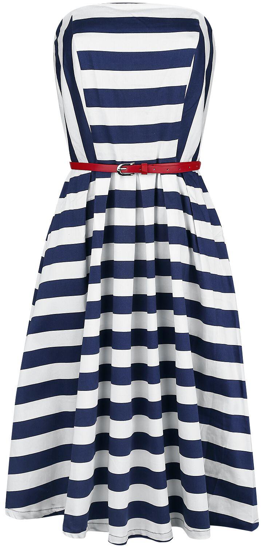 Marki - Sukienki - Sukienka Dolly and Dotty Lana Sukienka niebieski/biały - 357106