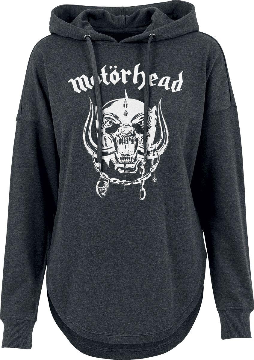 Image of   Motörhead England Girlie hættetrøje sort