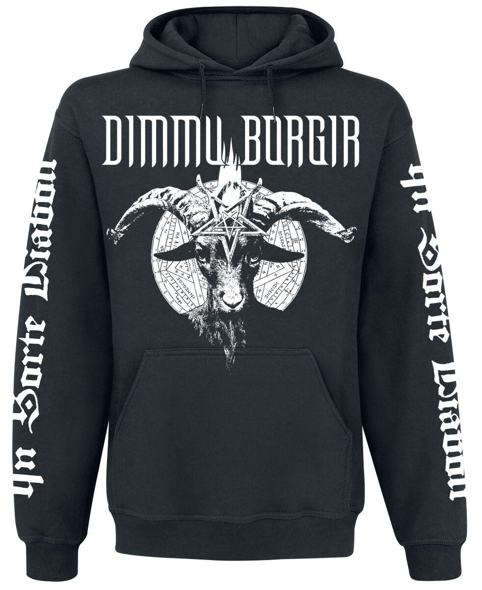 Zespoły - Bluzy z kapturem - Bluza z kapturem Dimmu Borgir Religion Sickens Me Bluza z kapturem czarny - 357210