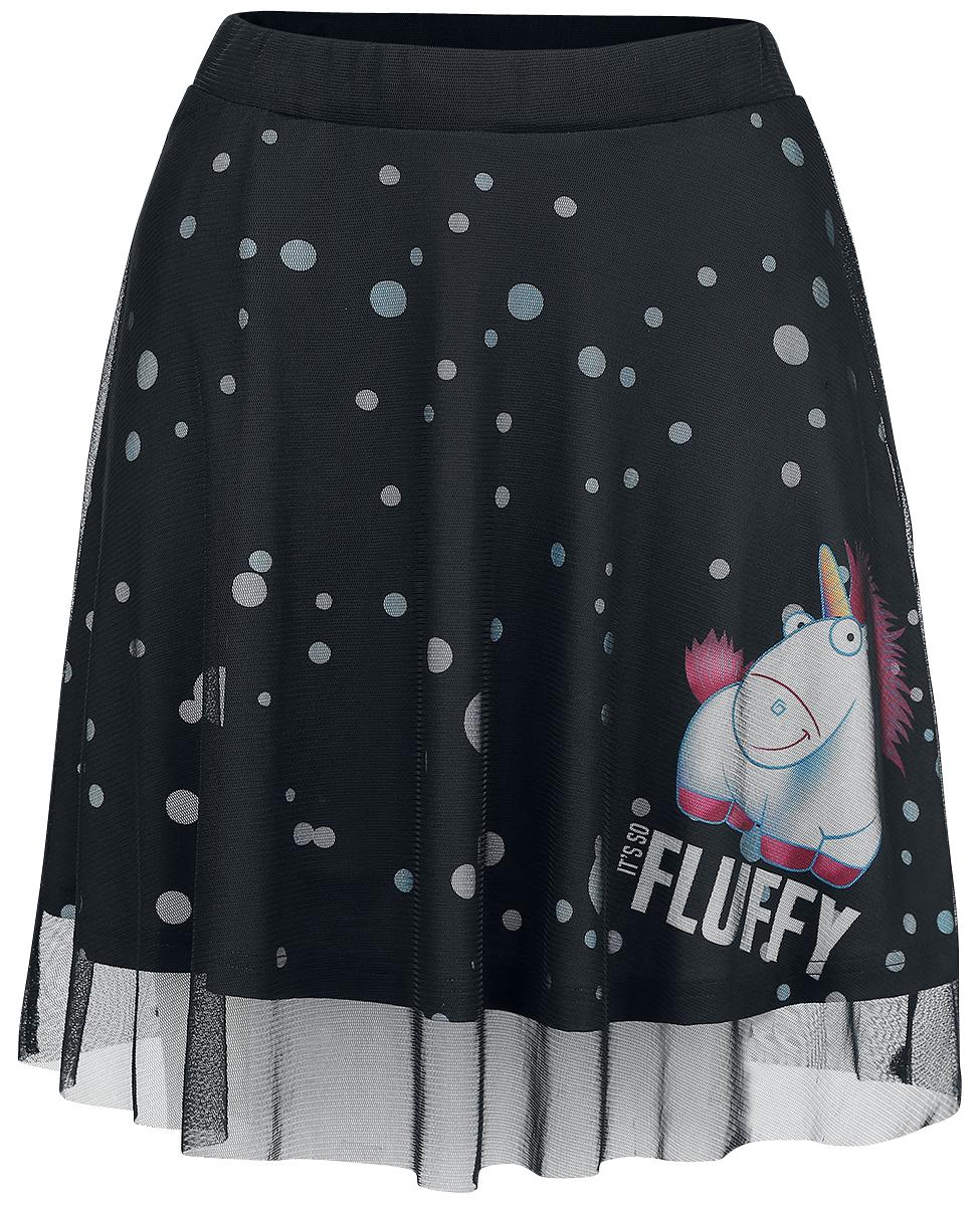 Minions Unicorn - Fluffy Spódnica czarny