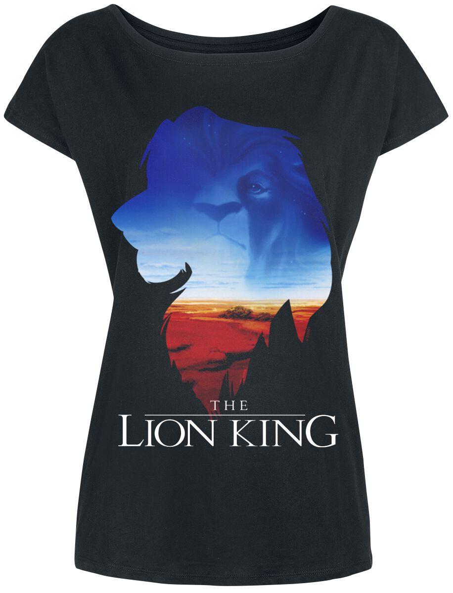 The Lion King Kings World Koszulka damska czarny