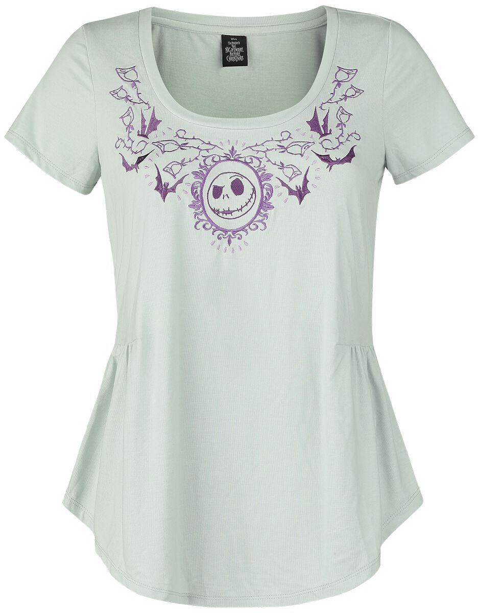 Miasteczko Halloween Pelpum Koszulka damska szary/purpurowy
