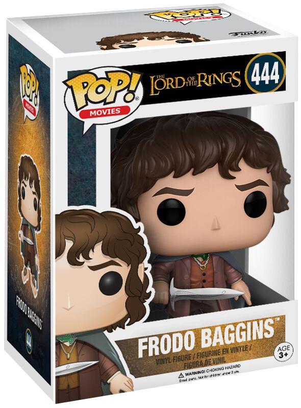 Image of   Ringenes Herre Frodo Baggins (Chase mulig) Vinyl Figure 444 Samlefigur Standard