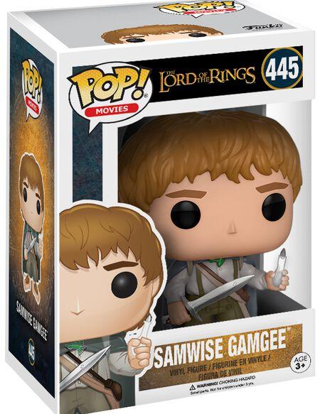 Figurine Le Seigneur des Anneaux Sam Gamegie Funko Pop!