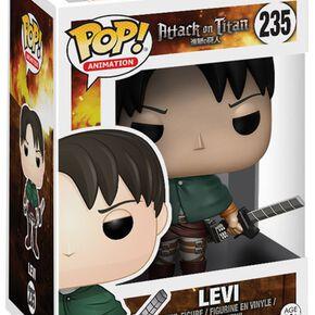 Figurine Funko Pop! L'Attaque des Titans Levi