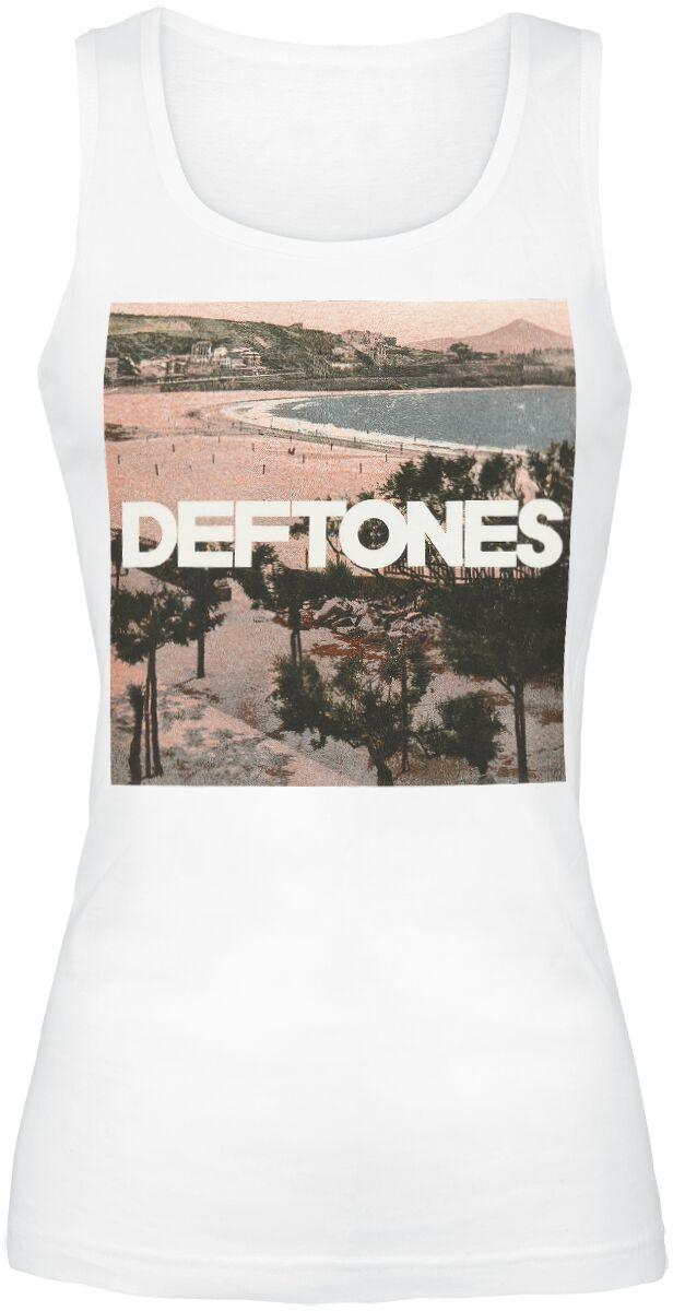 Zespoły - Topy - Top damski Deftones Landscape Top damski biały - 357485