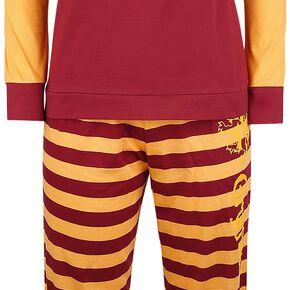 Harry Potter Rayures De Gryffondor Pyjama bordeaux/orange