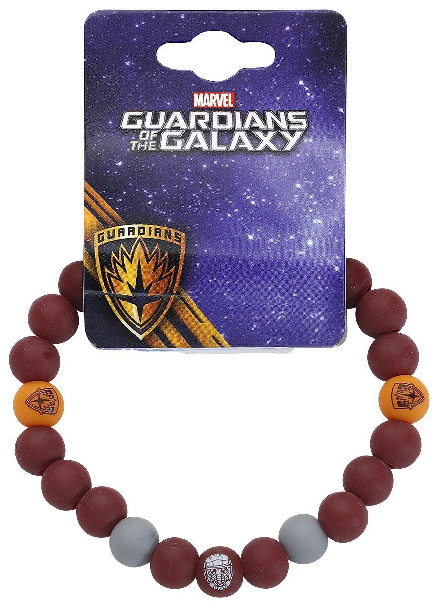 Image of   Guardians Of The Galaxy Star-Lord Armbånd rød-grå