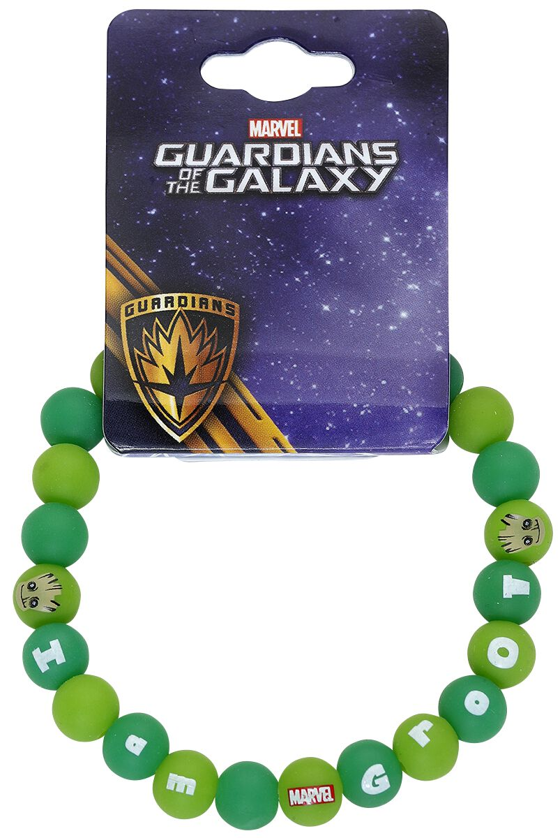 Image of   Guardians Of The Galaxy Groot Armbånd grøn-brun