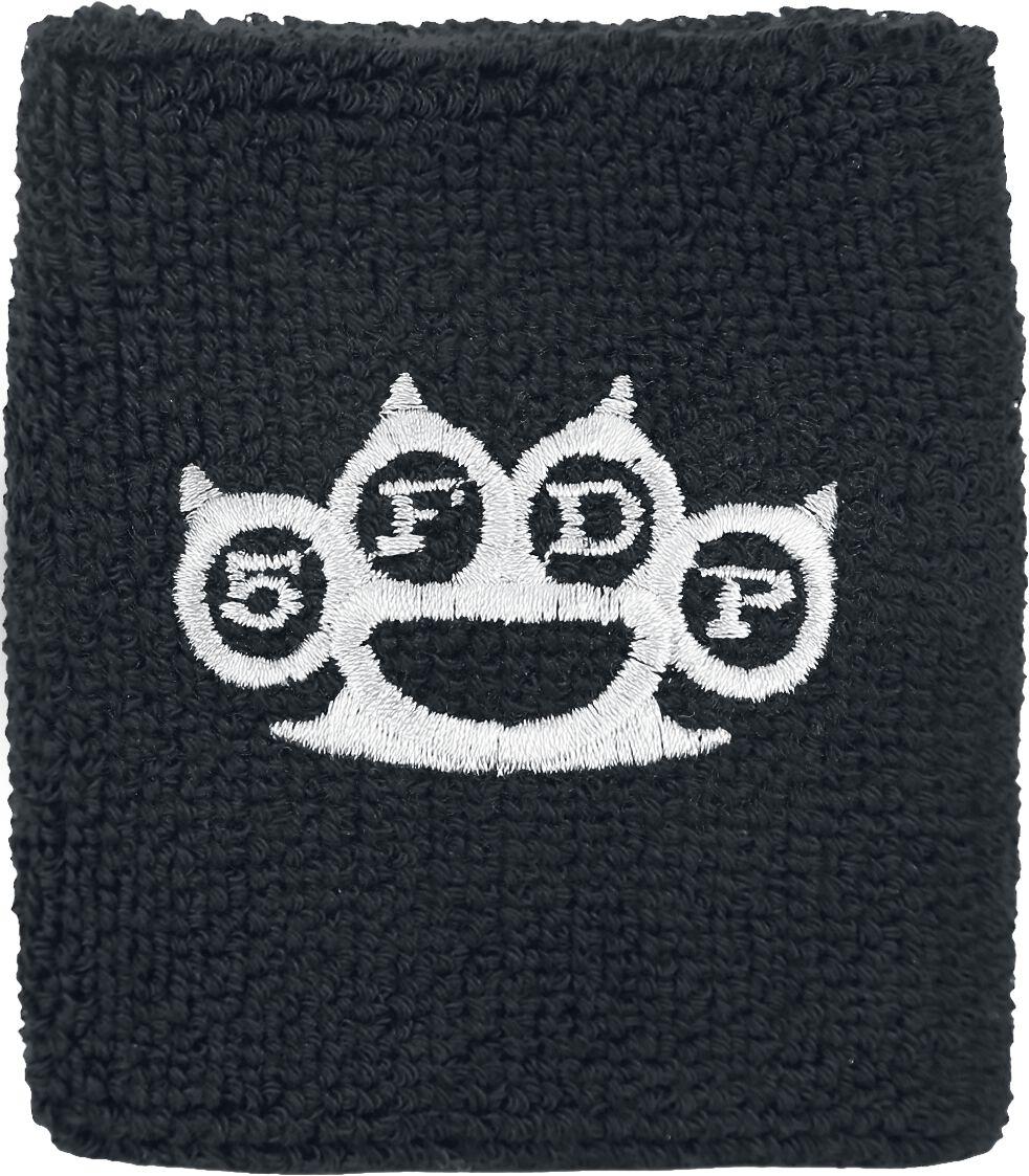 Image of   Five Finger Death Punch Knuckles Armbånd sort-hvid