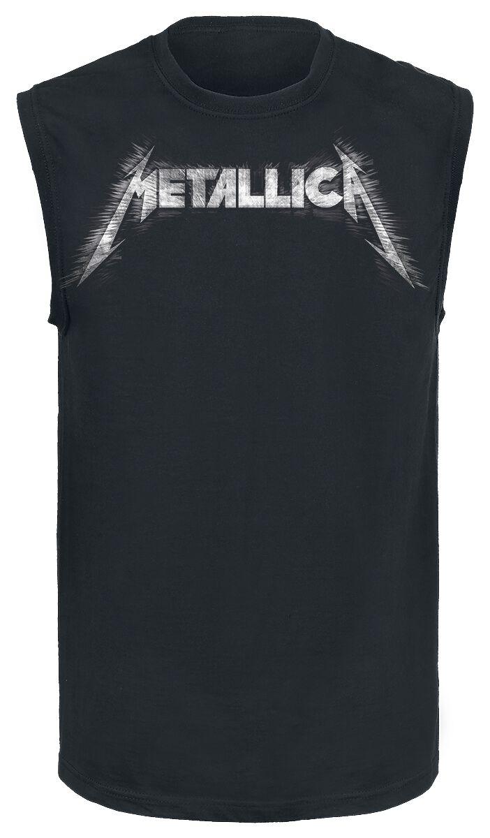 Metallica Spiked Logo - Männer - schwarz