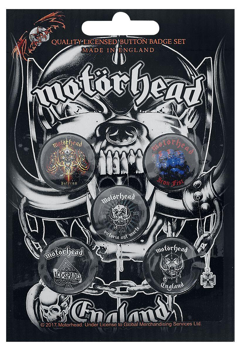 Image of   Motörhead England Badgepakke multifarvet