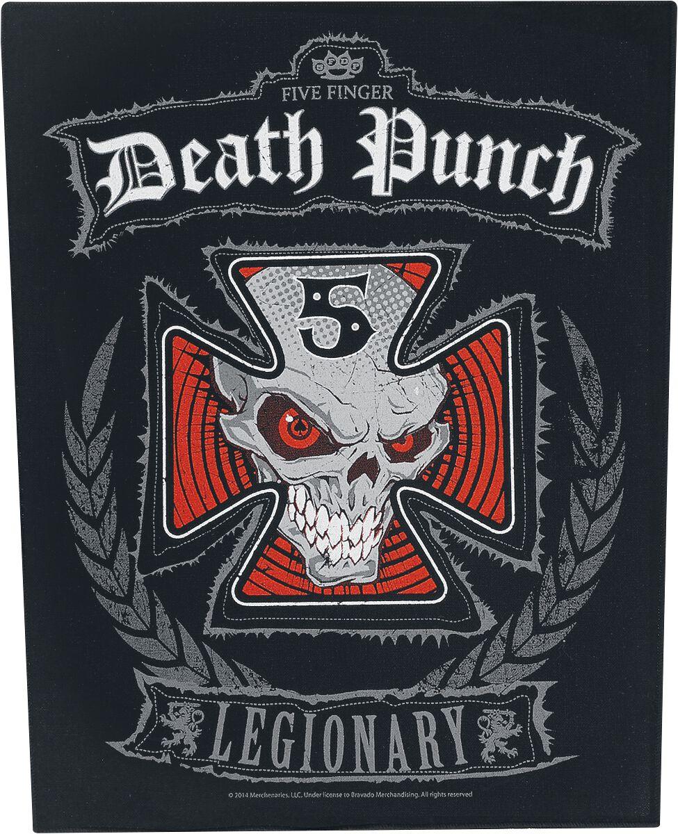 Image of   Five Finger Death Punch Legionary Rygmærke multifarvet