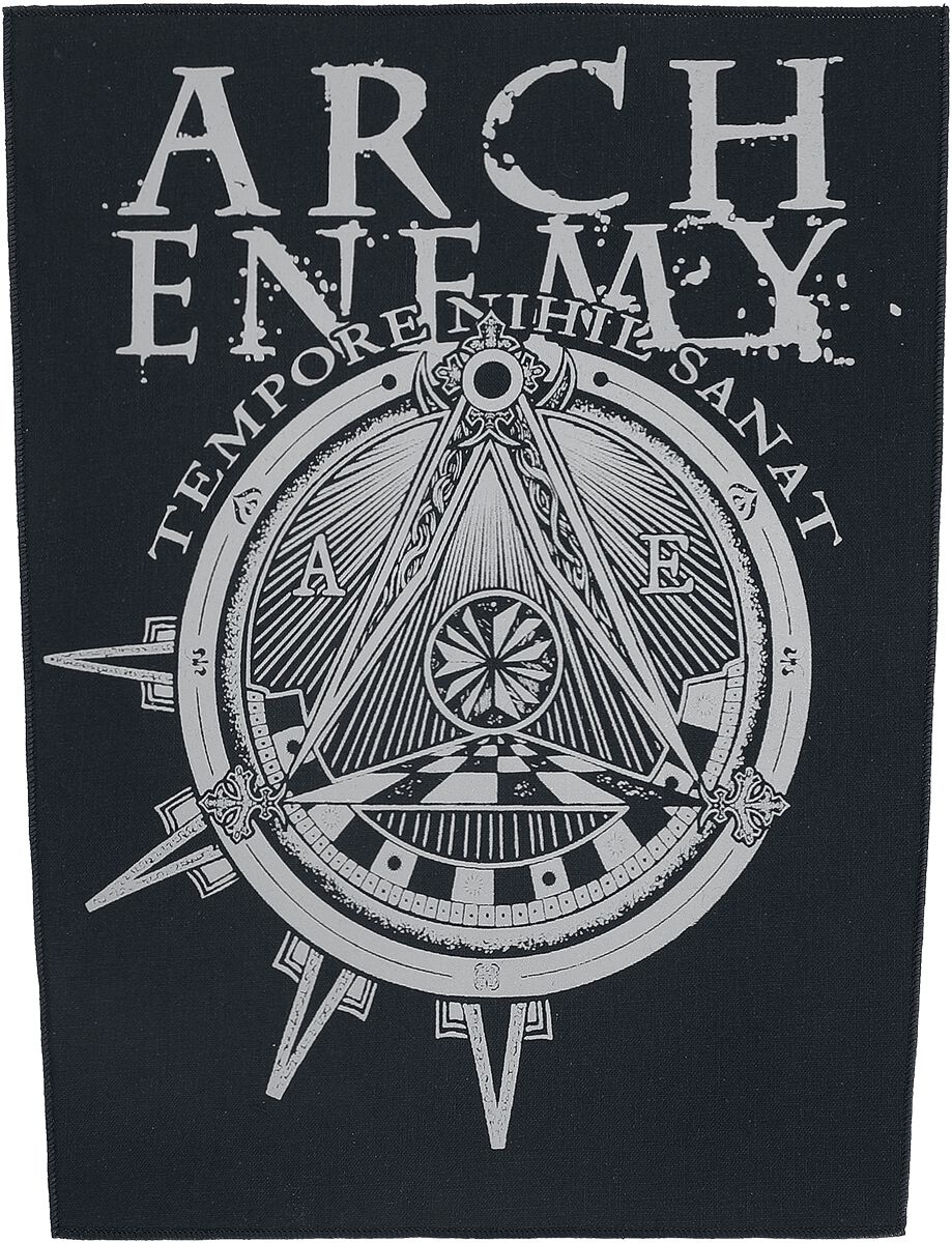 Image of   Arch Enemy Illuminati Rygmærke multifarvet