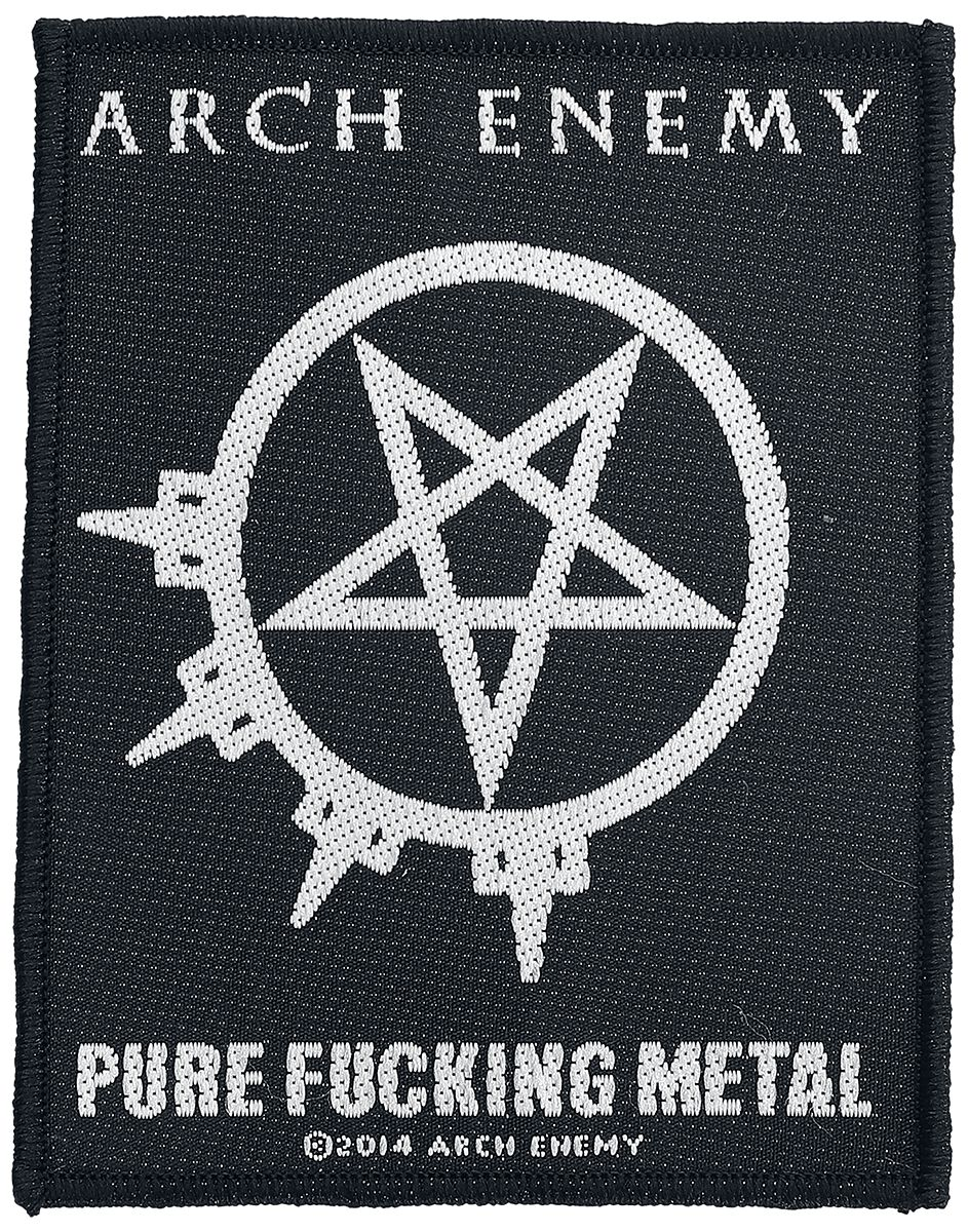 Image of   Arch Enemy Pure Fucking Metal Patch multifarvet