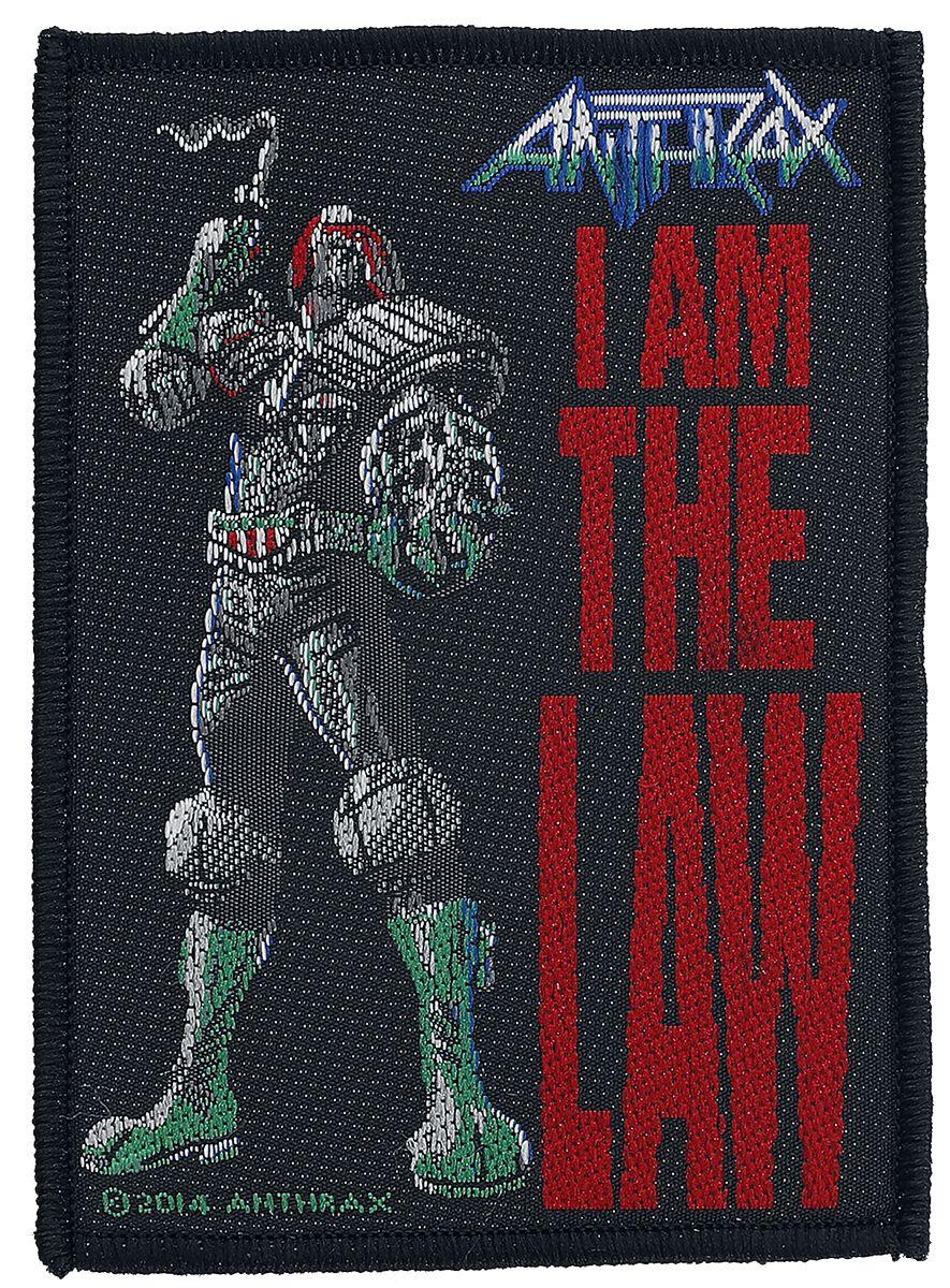 Zespoły - Naszywki - Naszywka Anthrax I Am The Law Naszywka wielokolorowy - 357694
