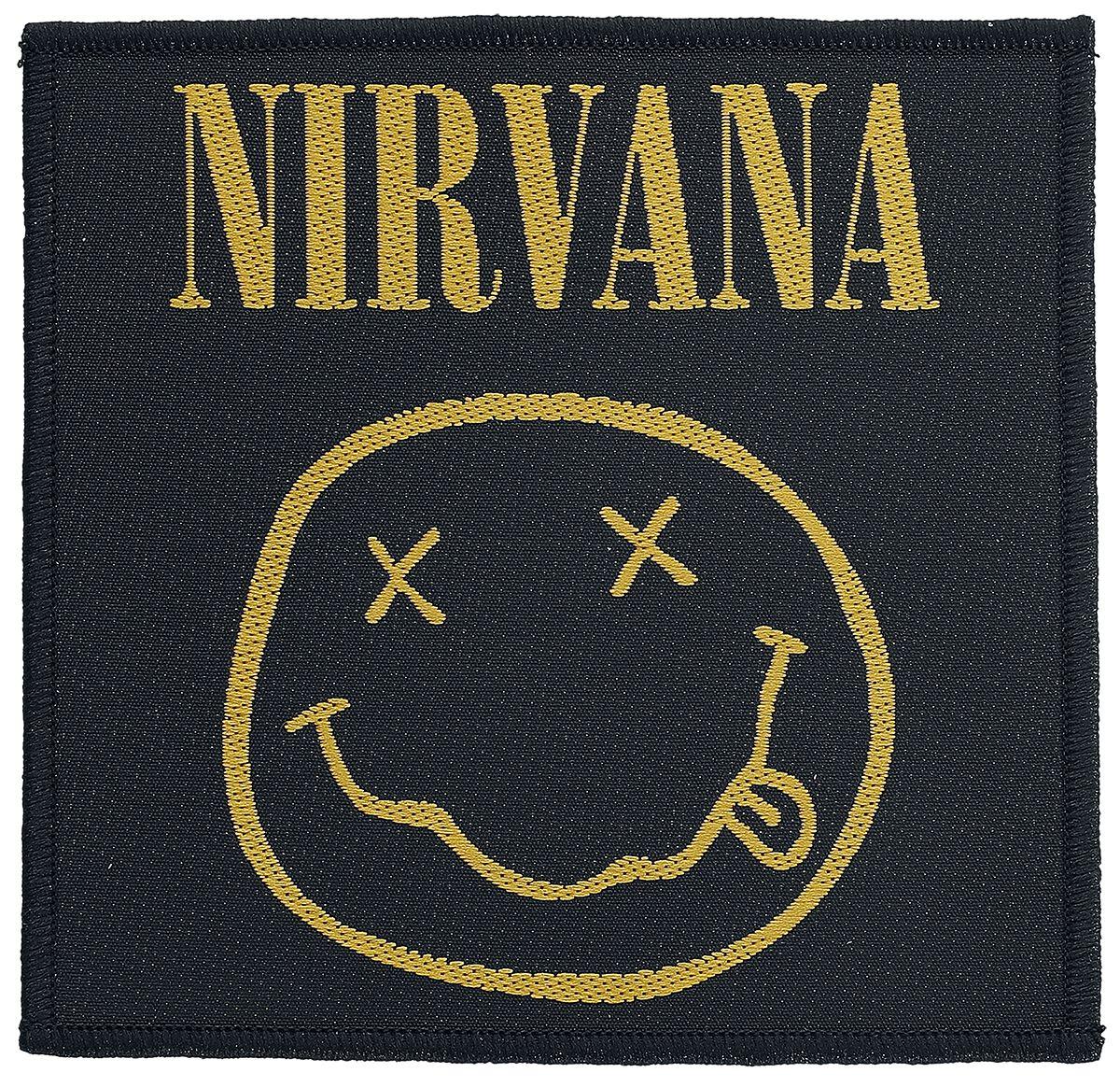 Zespoły - Naszywki - Naszywka Nirvana Smiley Naszywka wielokolorowy - 357698