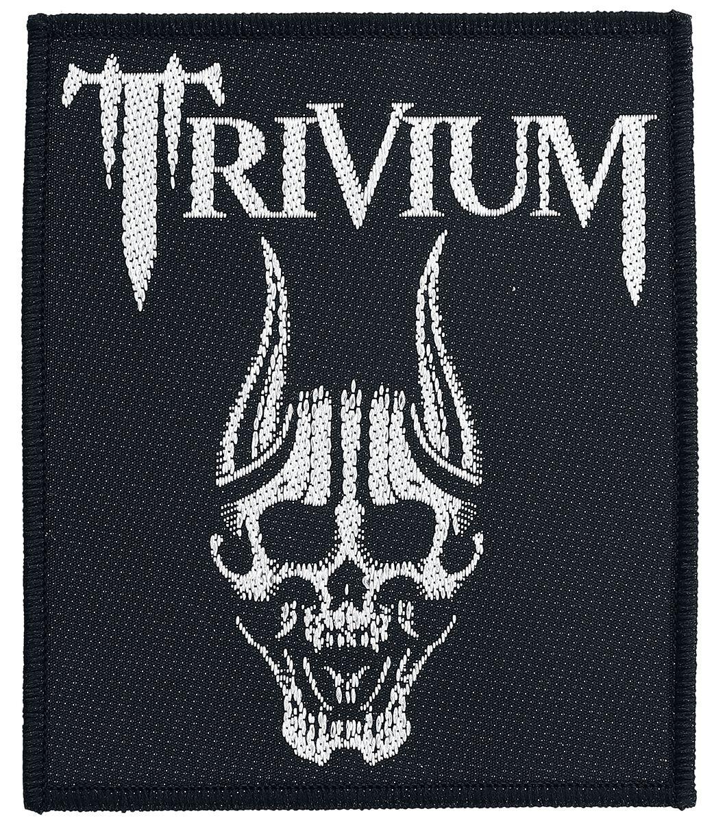 Zespoły - Naszywki - Naszywka Trivium Screaming Skull Naszywka wielokolorowy - 357702