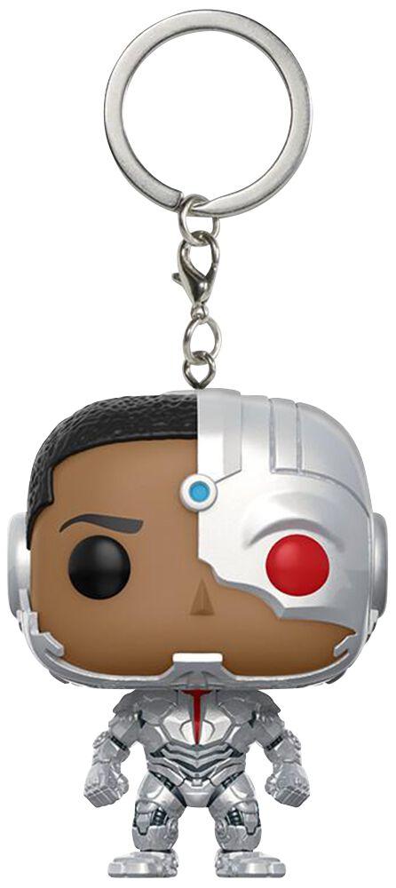 Image of   Justice League Cyborg Nøglering Standard