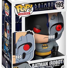 Figurine Pop! Batman Série Animée Batman Robot avec Variante