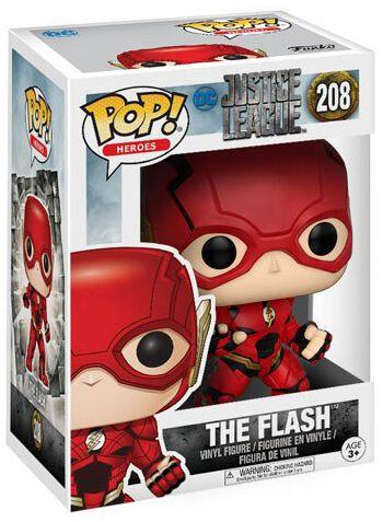 Image of   Justice League The Flash Vinyl Figure 208 Samlefigur Standard