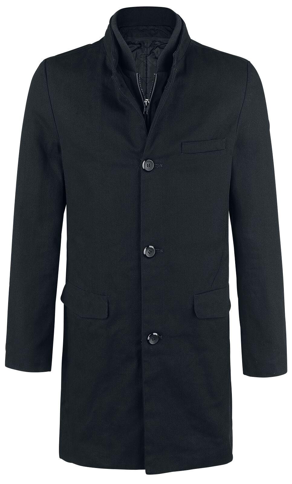 Image of   Forplay Single-Breasted Coat Frakke sort