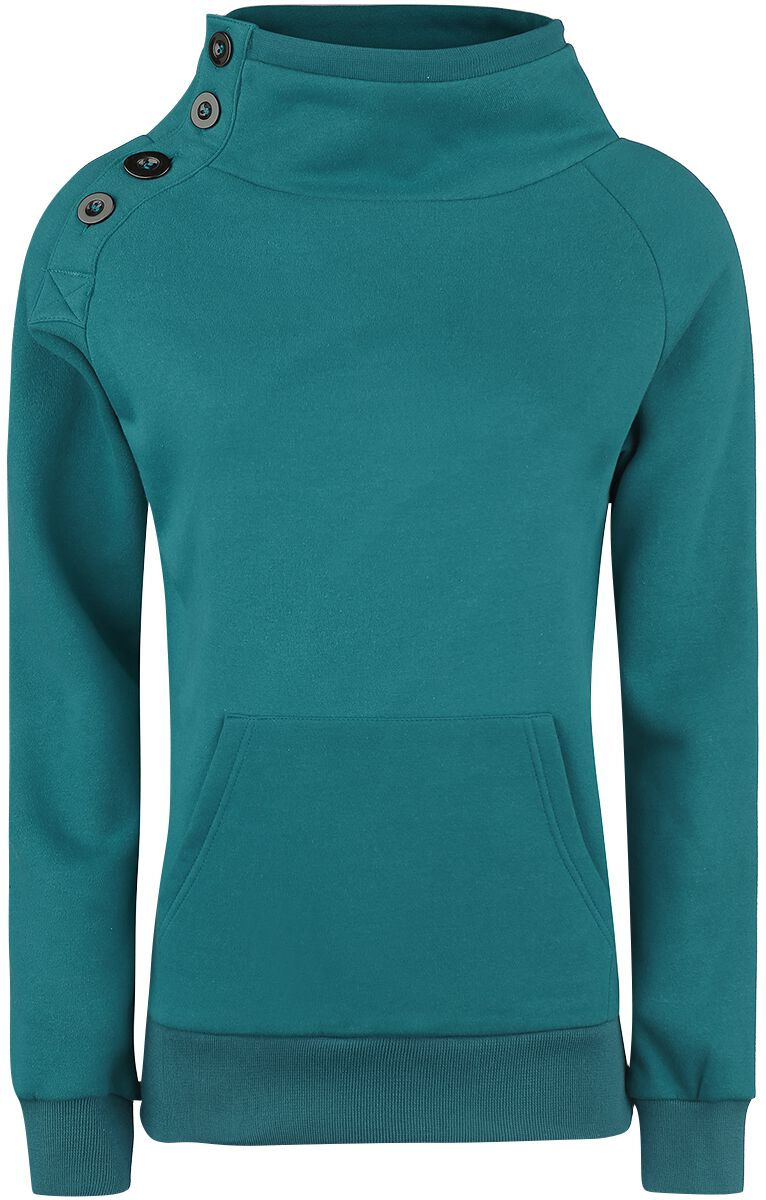 Image of   Forplay Sideways Girlie sweatshirt petrol