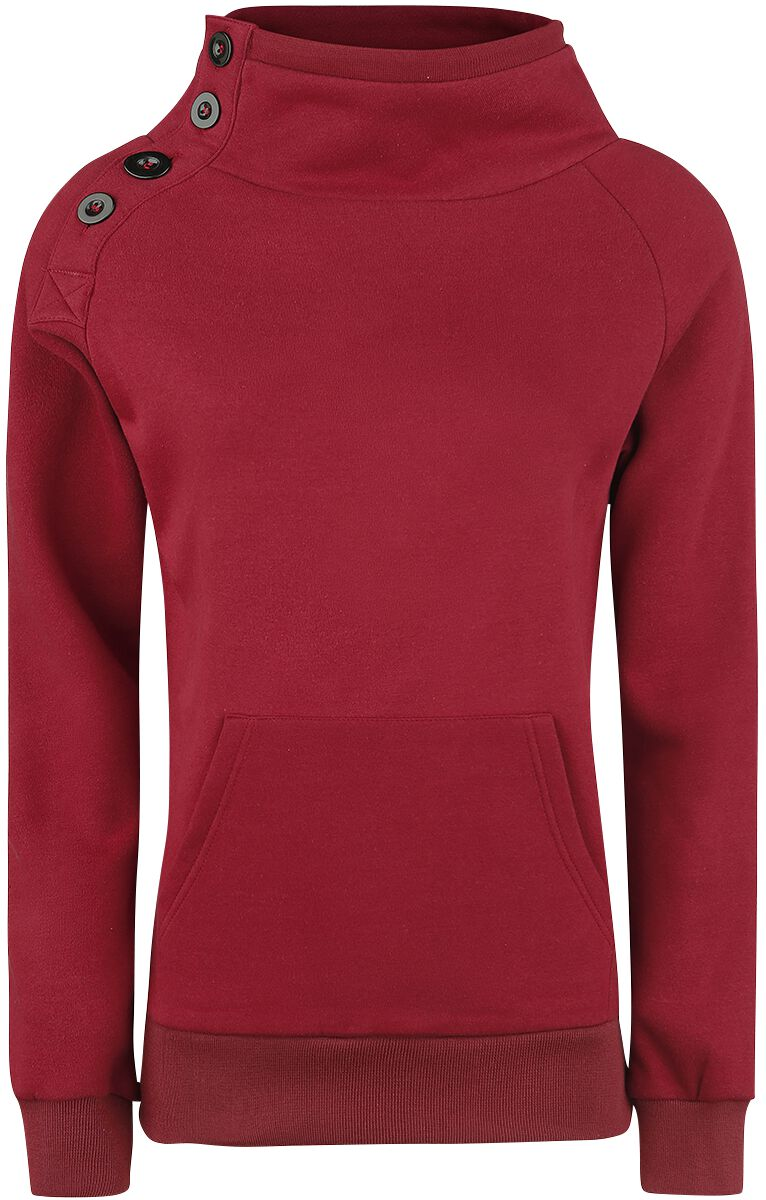 Image of   Forplay Sideways Girlie sweatshirt bordeaux