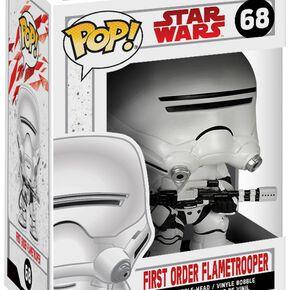 Figurine Pop! Flametrooper Premier Ordre Star Wars : Les Derniers Jedi