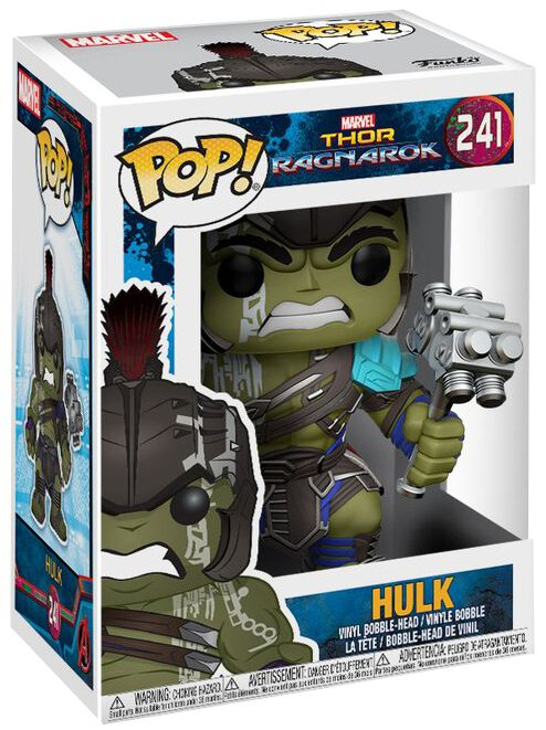 Image of   Thor 3 - Ragnarok - Hulk Gladiator Vinyl Figure 241 Samlefigur Standard