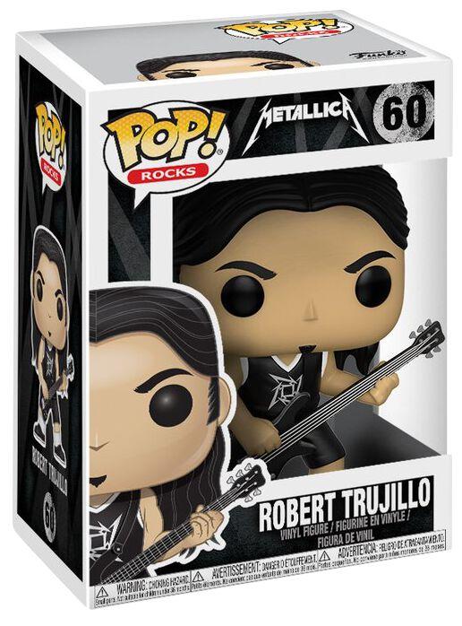 Metallica Robert Trujillo Rocks Vinyl Figure 60...
