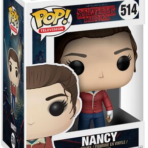 Figurine Pop! Nancy avec Pistolet Stranger Things