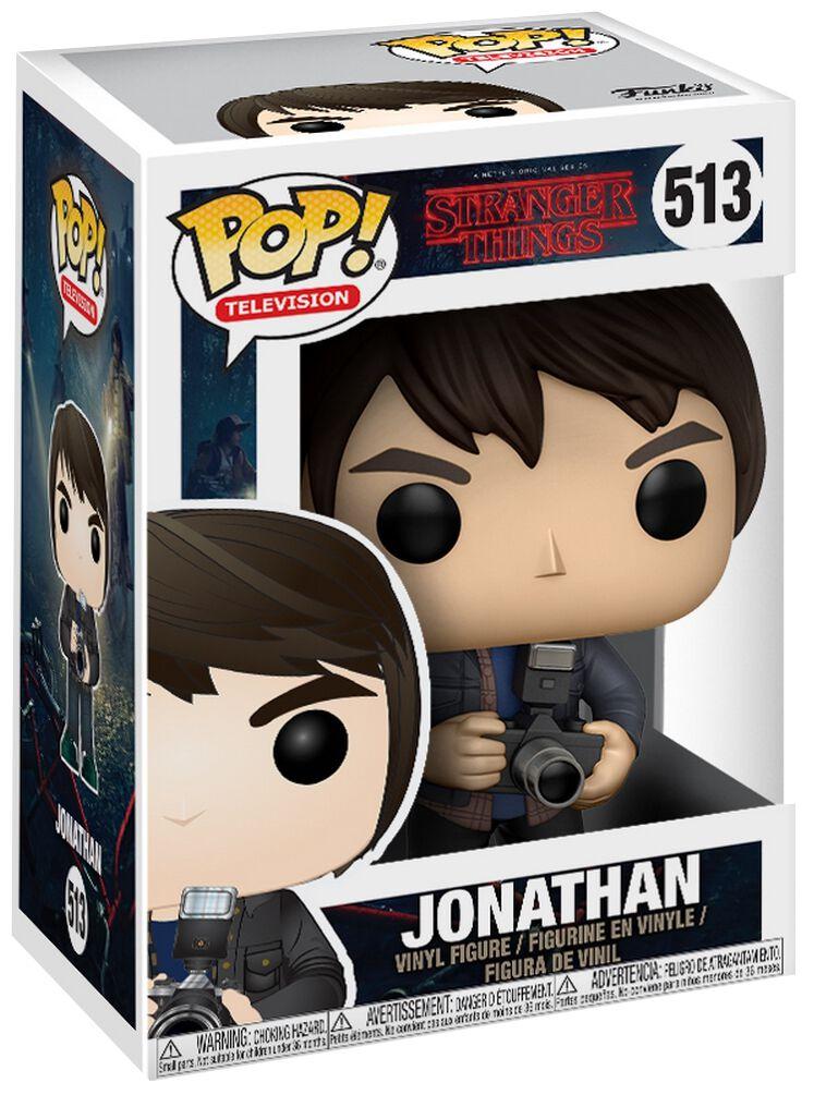 Stranger Things Jonathan with Camera Vinyl Figure 513 Figurine de collection Standard
