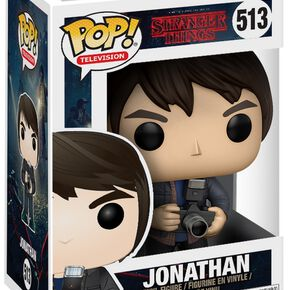 Figurine Pop! Jonathan avec Appareil Photo Stranger Things