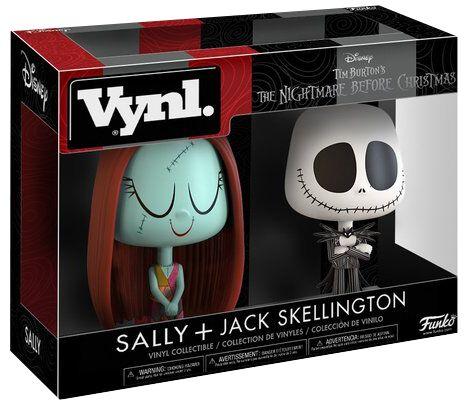 Image of   The Nightmare Before Christmas Sally and Jack Skellington (VYNL) VYNL Standard