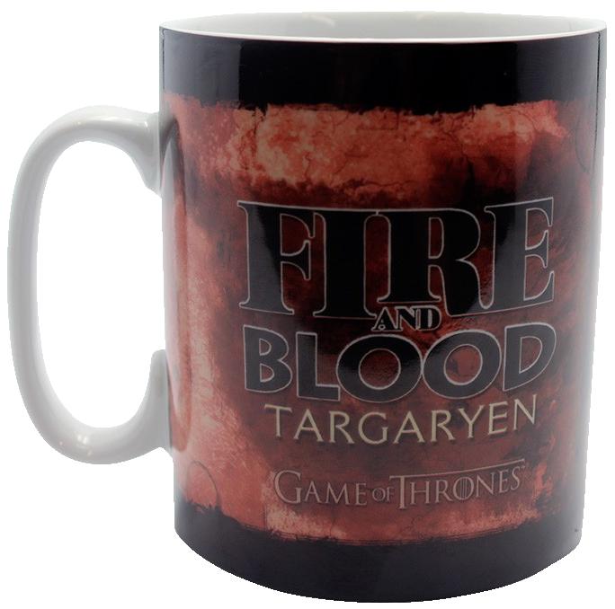 Image of Game Of Thrones Targaryen - Geschenkbox Fanpaket Mehrfarbig
