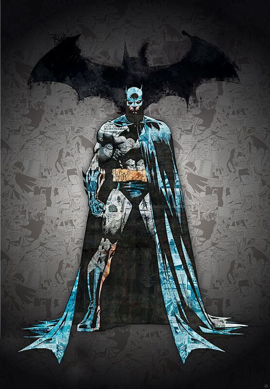Image of   Batman Batman Plakat multifarvet