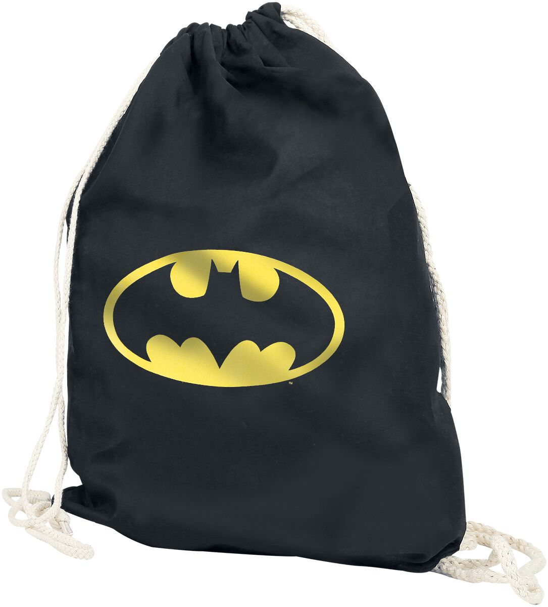 Image of   Batman Logo Gymnastiktaske sort