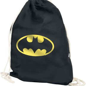 Batman Logo Sac de Gym noir