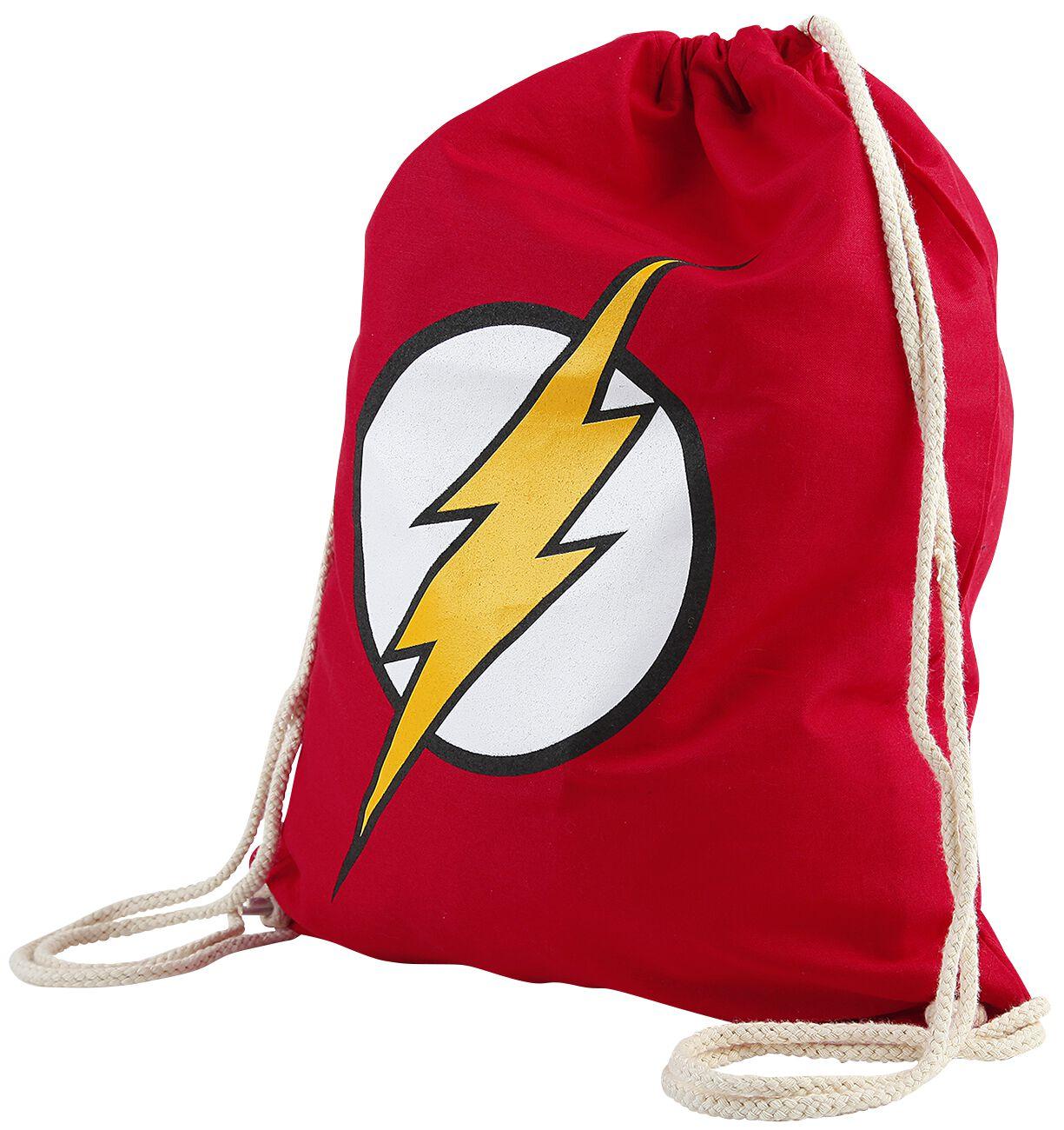 Merch dla Fanów - Torby i Plecaki - Torba treningowa The Flash Logo Torba treningowa czerwony - 358143