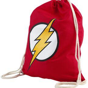 Flash Logo Sac de Gym rouge