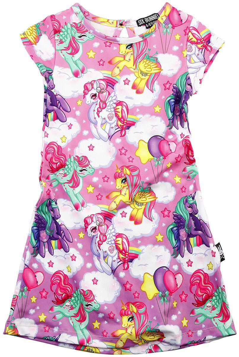 Marki - Odzież dziecięca i niemowlęca - Sukienka dziecięca Six Bunnies Pegasus Pink Sukienka dziecięca wielokolorowy - 358154