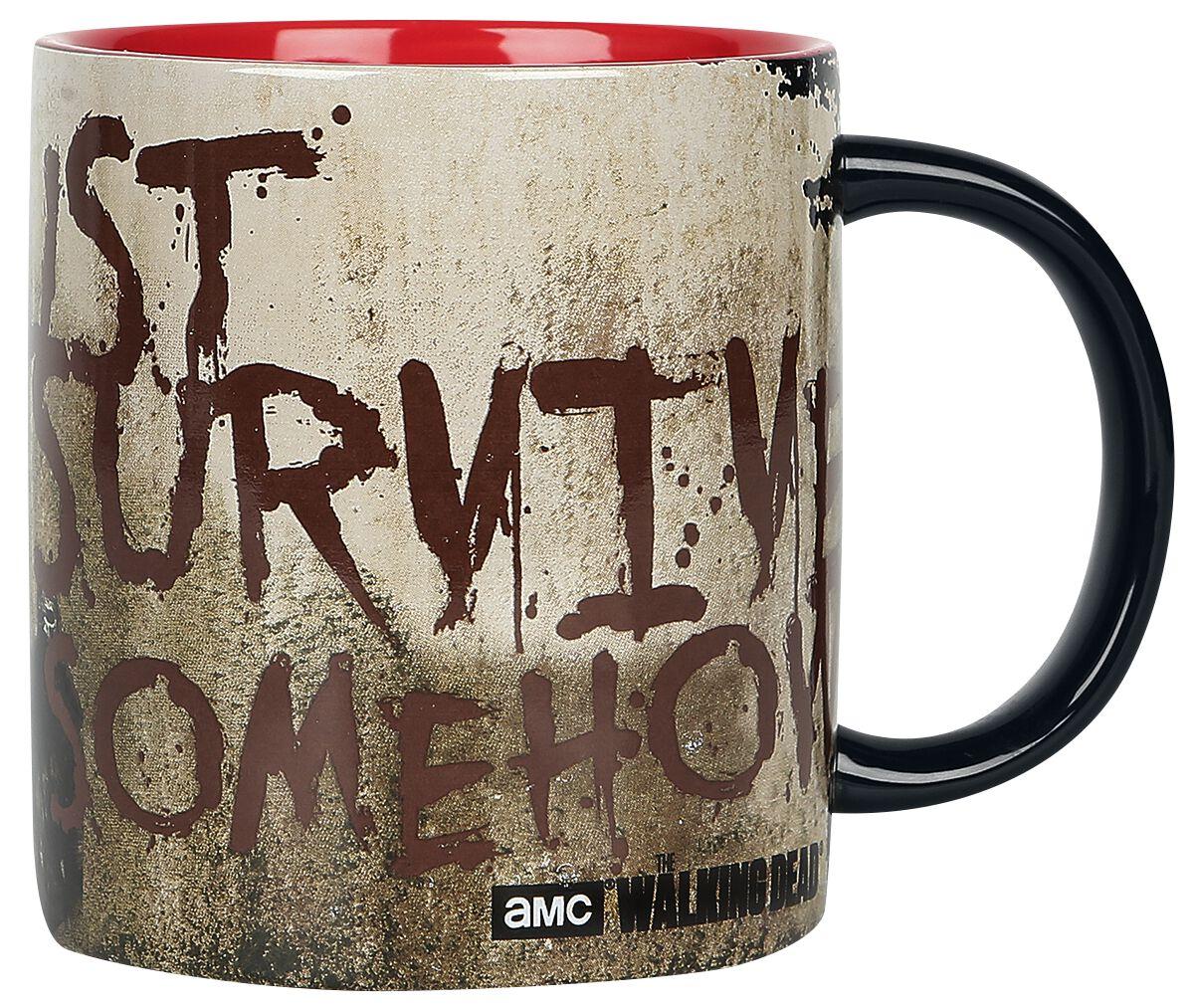 Image of   The Walking Dead Just survive Krus multifarvet