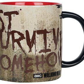 The Walking Dead Just survive Mug multicolore