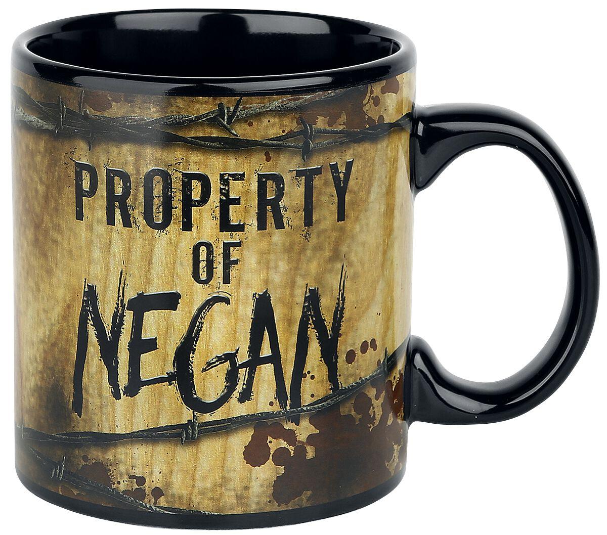 Image of   The Walking Dead Property Of Negan Krus multifarvet