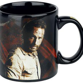 The Walking Dead Rick Grimes - Survival Mug noir/gris
