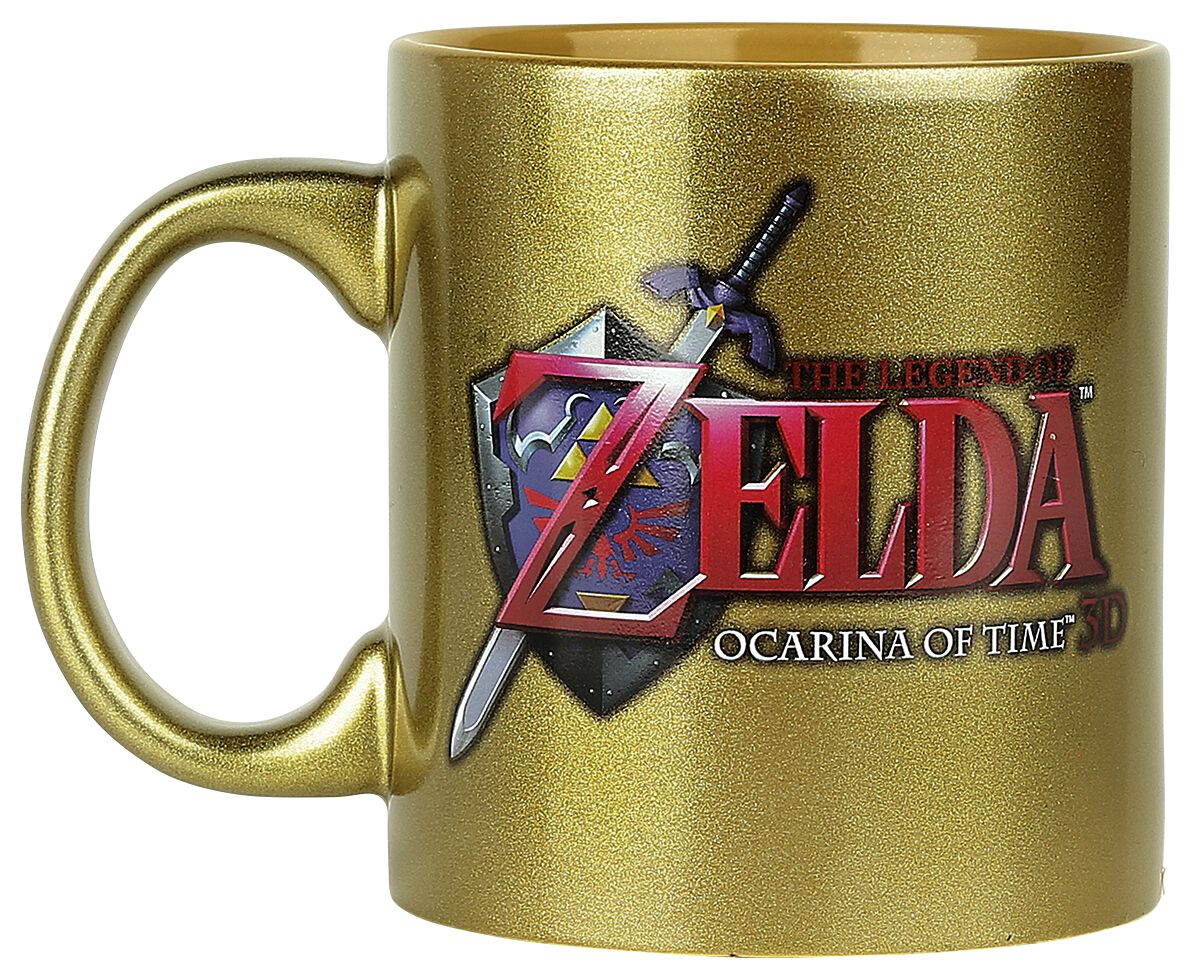 Image of   The Legend Of Zelda Ocarina Of Time Krus Guld