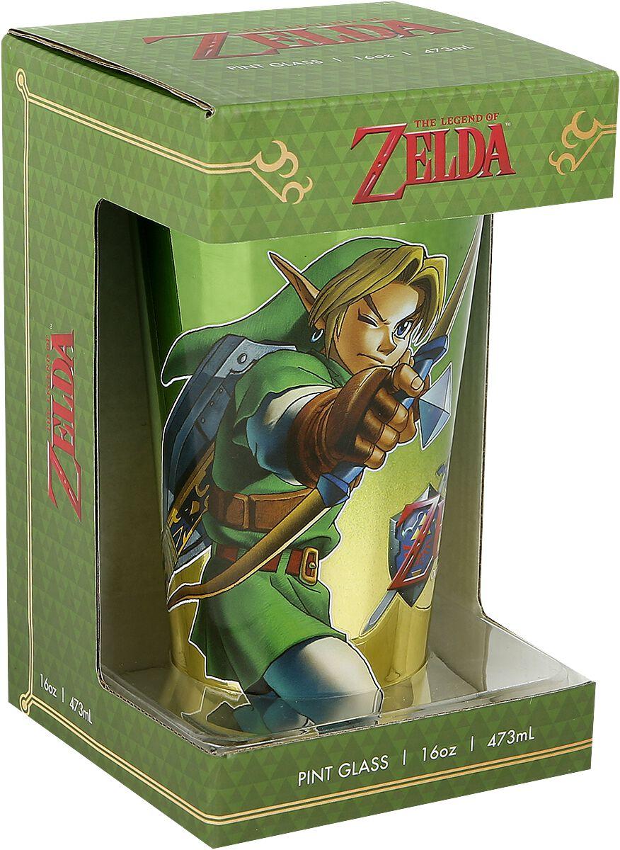 Image of   The Legend Of Zelda Link Ølglas multifarvet