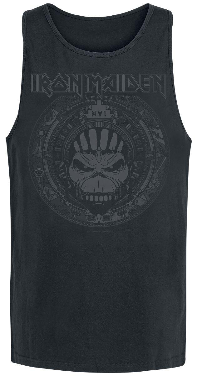 Image of   Iron Maiden Book Of Souls Skull Tanktop sort