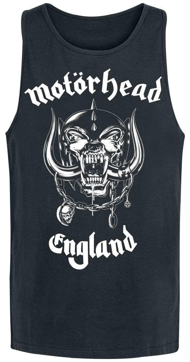 Image of   Motörhead England Tanktop sort
